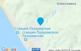 Крабовое ущелье, Лазаревское, Краснодарский край. Фото, как добраться