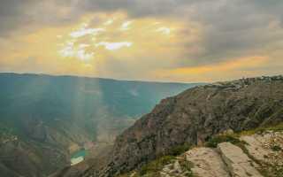 Сулакский каньон в Дагестане. Фото, видео, где находится, как добраться, экскурсии
