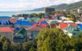 Кобулети, Грузия. Достопримечательности, фото, карта, что посмотреть туристу