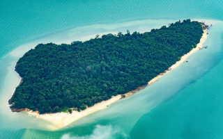 Острова Тайланда для отдыха в ноябре, декабре, январе, феврале, марте с детьми на карте с названиями