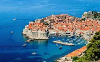 Дубровник, Хорватия. Достопримечательности на карте города, фото, что посмотреть за один день