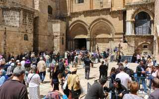Что привезти из Иерусалима в подарок верующим, для выздоровления, сувениры