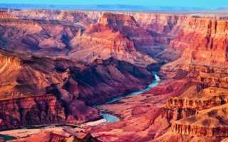 Гранд-Каньон (Большой каньон) в США. Где находится, фото, интересные факты