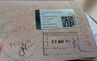 Нужна ли виза в Шри-Ланку для россиян 2020?