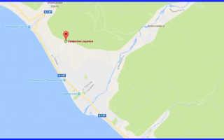 Свирское ущелье, Лазаревское. Фото, карта, как добраться, отзывы
