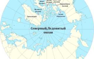 Северный ледовитый океан. Фото, глубина, площадь, карта, моря, острова, заливы