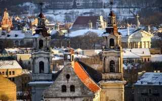 Что посмотреть в Вильнюсе, куда сходить туристу самостоятельно, с детьми