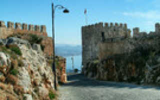 Алания, Турция. Достопримечательности на карте города, что посмотреть в окрестностях