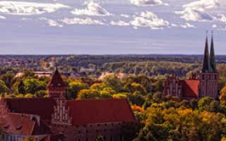 Ольштын, Польша. Достопримечательности, фото и описание, карта, что посмотреть за один день