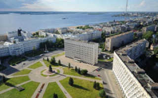 Архангельск на карте России, достопримечательности с описанием в городе и окрестности