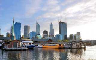 Перт, Австралия. Достопримечательности, фото и описание города, карта, что посмотреть