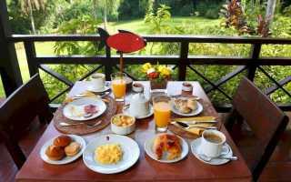 Bed&breakfast. Что это за питание, перевод на русский, меню в отелях разных стран