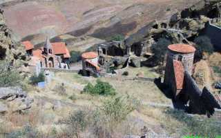 Давид-Гареджийский монастырь. Фото, адрес, как добраться на машине, интересные факты