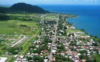 Сент-Китс и Невис острова на карте мира. Фото, флаг государства, достопримечательности. Круиз по Карибскому морю, запись 7