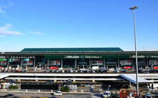 Аэропорт Фьюмичино. Схема терминалов, фото и описание, как добраться в Рим