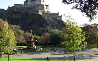Эдинбургский замок в Шотландии. Фото, история, факты, видео