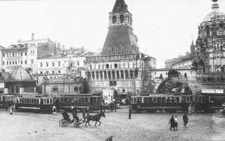 Старейшие фотографии старой Москвы. Дореволюционные и современные. История города, Кремль