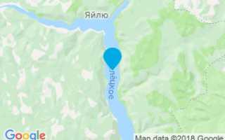 Озеро Телецкое на карте. Фото, где находится, базы отдыха