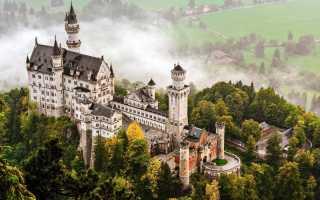 Замок Нойшванштайн Германия. Фото внутри, история, как добраться, где находится