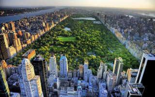 Центральный парк Нью-Йорка, США. Фото, площадь, история, чем уникален