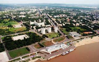 Комсомольск-на-Амуре. Где находится на карте России, фото, достопримечательности, история