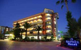Saphir Hotel 4* Турция, Алания. Отзывы 2020, фото отеля, видео, цены