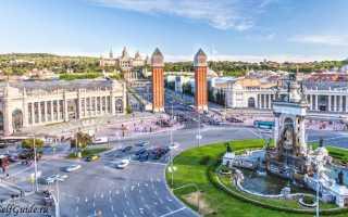 Барселона, Испания. Достопримечательности на карте, описание, маршруты, пляжи, отели, интересные места